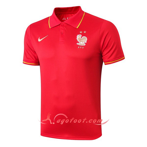 Polo Foot France Rouge 19/20