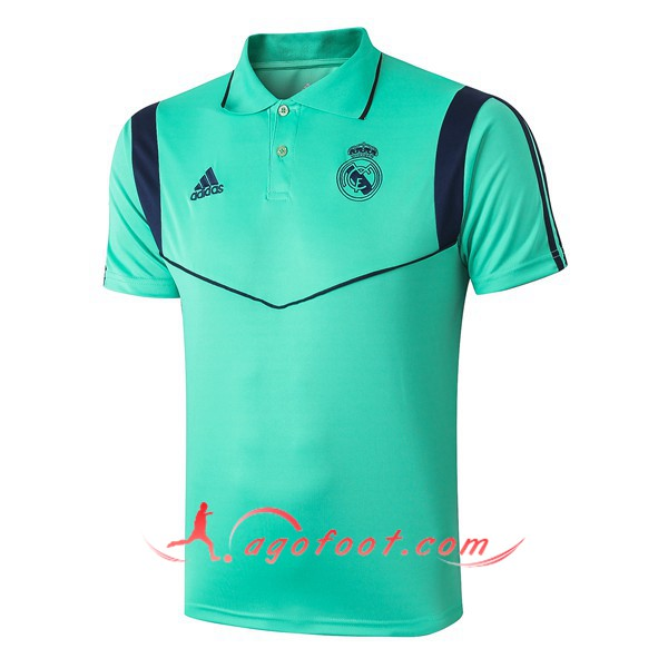 Polo Foot Real Madrid Vert 19/20