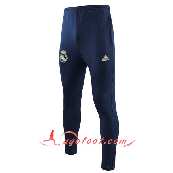 Nouveau Training Pantalon Real Madrid Bleu Saphir 19/20
