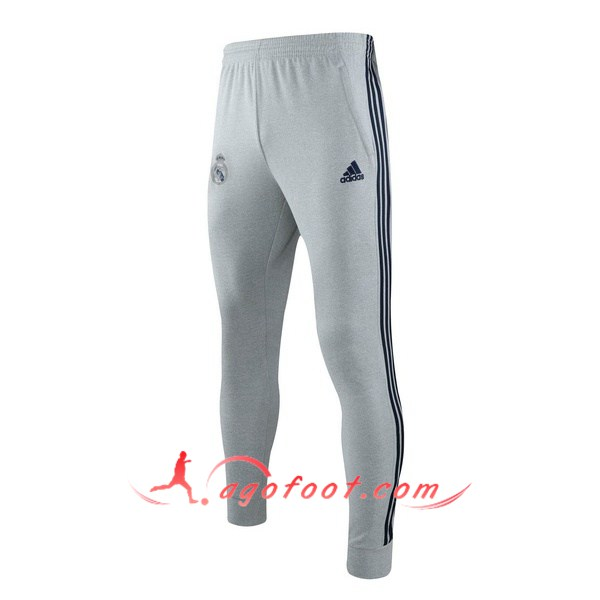 Nouveau Training Pantalon Real Madrid Gris 19/20