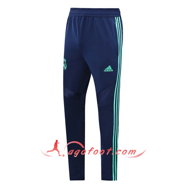Nouveau Training Pantalon Real Madrid Cyan 19/20
