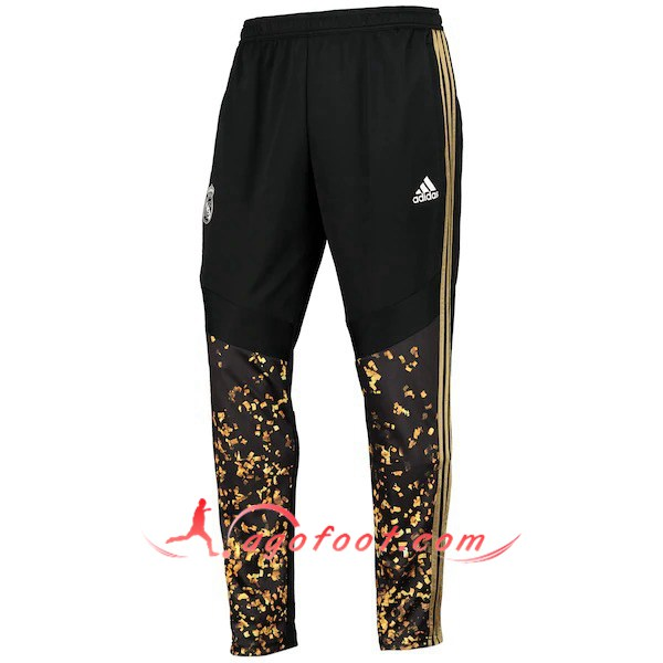 Nouveau Training Pantalon Real Madrid Adidas × EA Sports™ FIFA 20 Noir Jaune 19/20