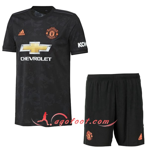 Ensemble Maillot Foot Manchester United Third Floqué 19/20