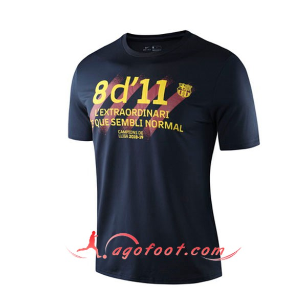 Training T-Shirts FC Barcelone Noir 19/20