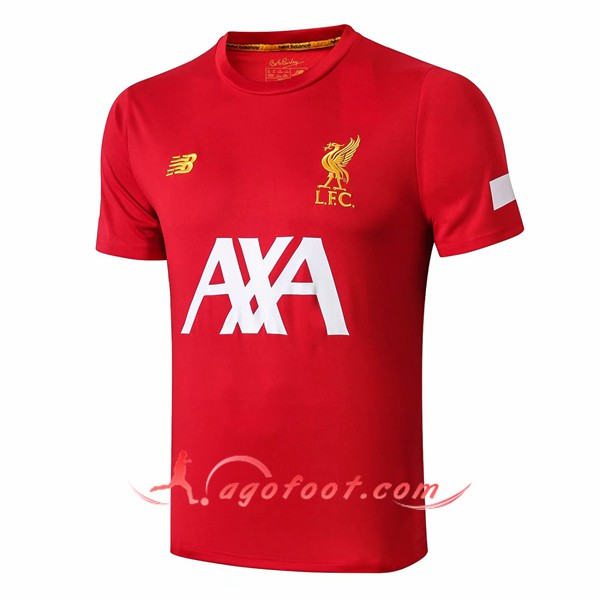 Training T-Shirts FC Liverpool AXA Rouge 19/20