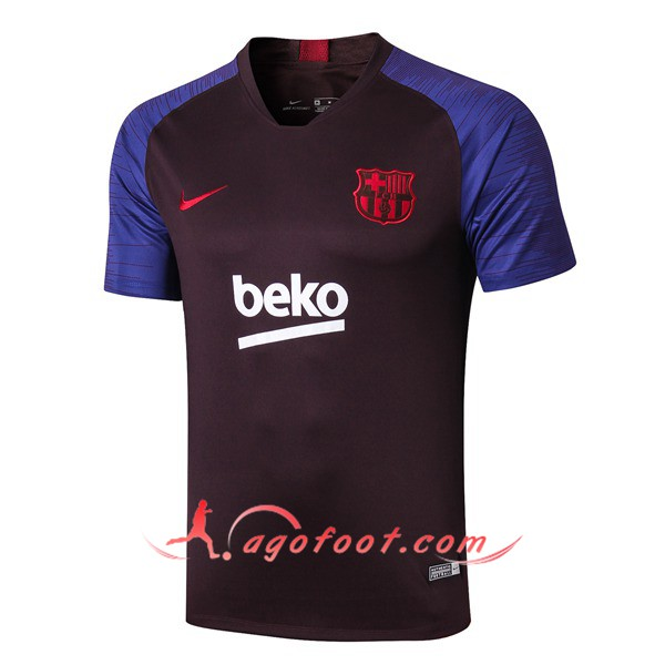 Training T-Shirts FC Barcelone Pourpre 19/20