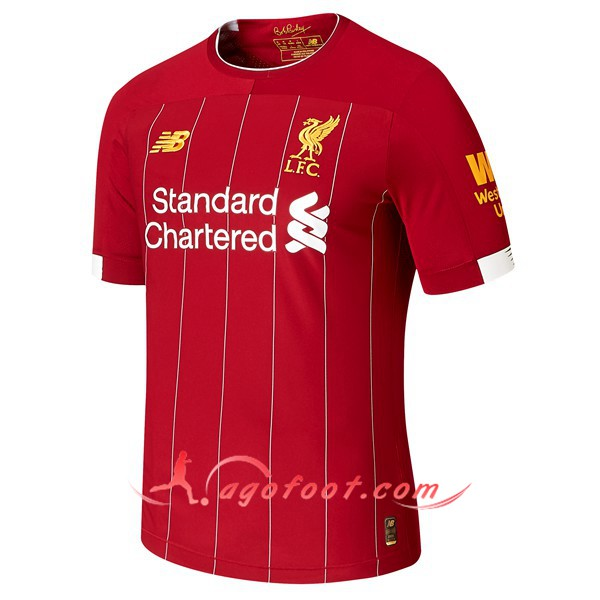Maillot Foot FC Liverpool Domicile 2019 2020
