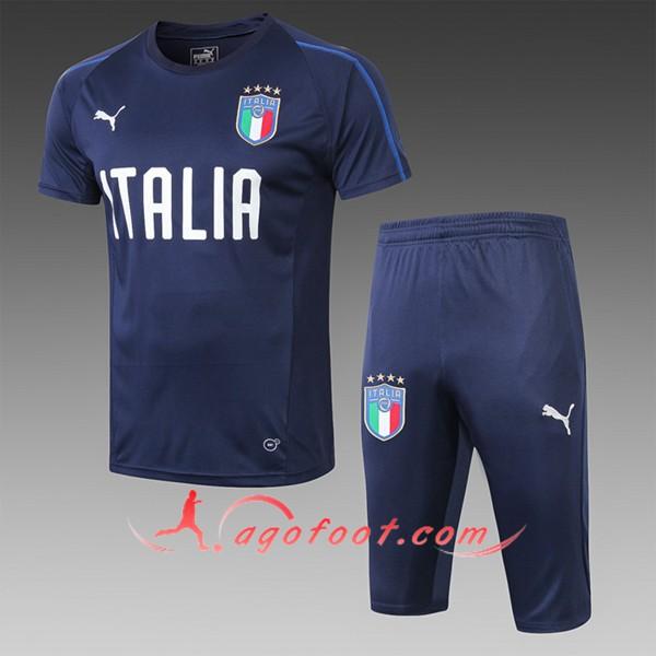 Nouveau PRÉ MATCH Training Italie + Pantalon 34 Bleu Fonce