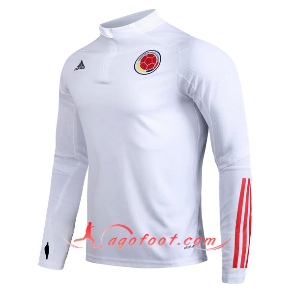 Nouveau Training Sweatshirt Colombie Blanc 20/21