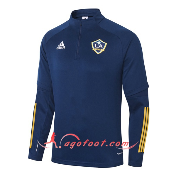 Nouveau Training Sweatshirt LA Galaxy Bleu Royal 20/21