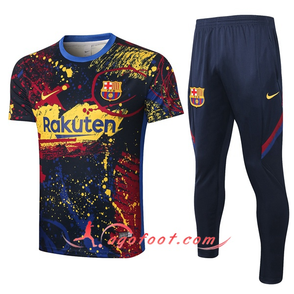 Training T-Shirts FC Barcelone Jet D'encre 20/21