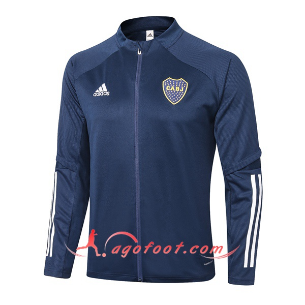 Nouveau Veste Foot Boca Juniors Bleu Royal 20/21