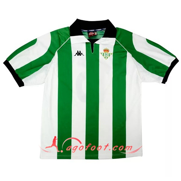 Maillot Retro Real Betis Domicile 1998/1999